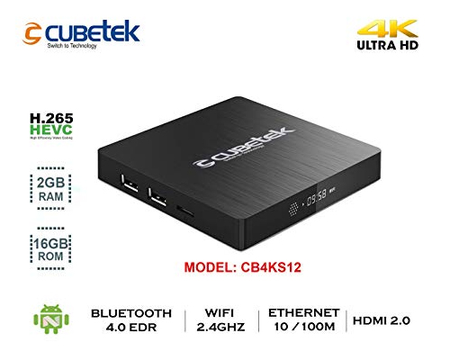 Cubetek 4K Portable Smart TV Box